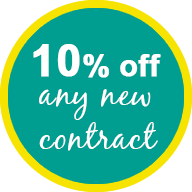 10% off Any New Contract